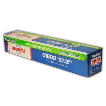 HEAVY DUTY FOIL 18x500 ROLL