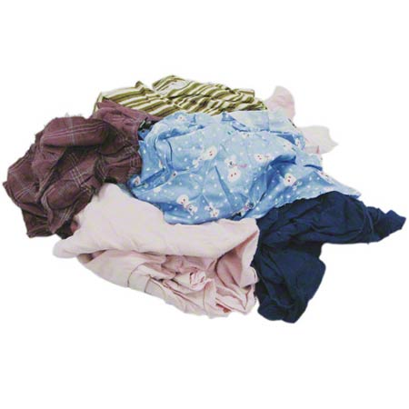 RECYCLED COLORED TSHIRT RAGS MIXED COLORS 25#