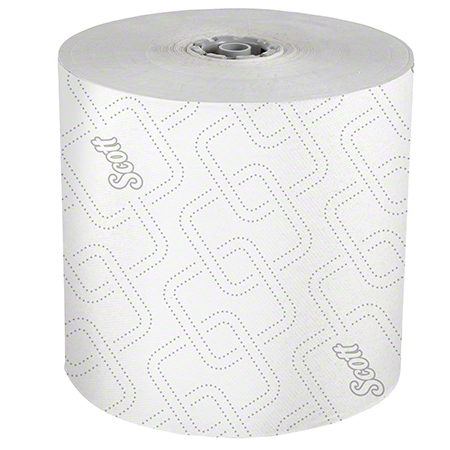 SCOTT MOD ROLL TOWEL 7.5x1150 WHITE 6/CS