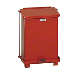 Rubbermaid® Defenders® Step Can -7 Gal., Red
