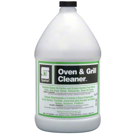 ** OVEN AND GRILL CLEANER FOR BAKED ON GREASE 4/GAL