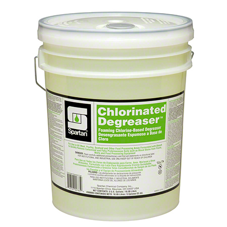 ** CHLORINATED DEGREASER HIGH ALKALINE CONCENTRATE 5 GALLON