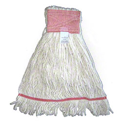 Carolina Mop Raycot Natural 4 Ply Looped-End Mop -Large,Wide