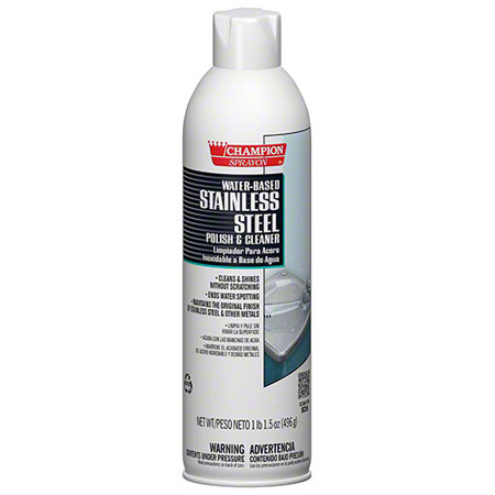 Champion Sprayon® Water-Based Stainless Steel Polish