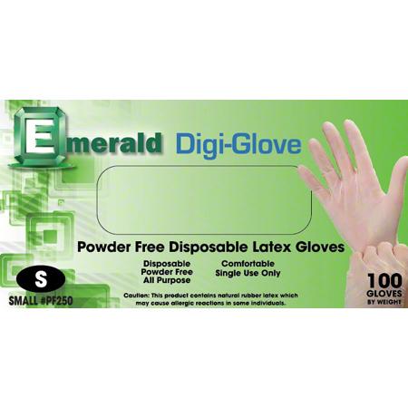 Emerald Digi-Glove Powder-Free 4 mil Latex Glove - XL