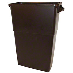 Impact® 23 Gal. Thin Bin™ Brown Container