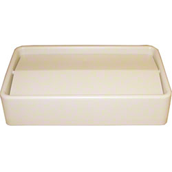 Impact® 23 Gal. Thin Bin™ Beige Swingtop Lid
