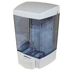 Impact® ClearVu™ Bulk Lotion Soap Dispenser - White