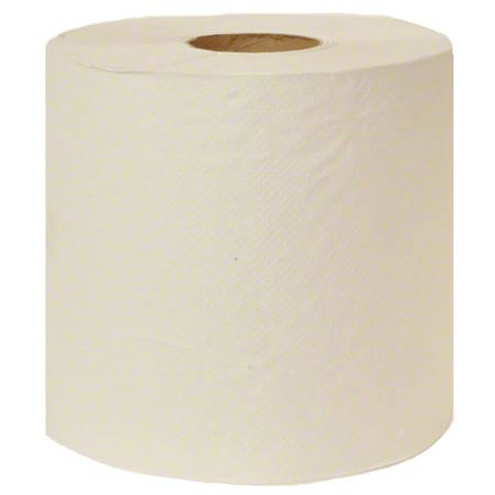 Embossed White Roll Towel - 800'