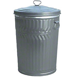 Witt Commercial Duty Galvanized Trash Cans & Lids