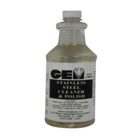 Gem Stainless Steel Polish - Qt.