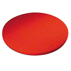 ACE Red Round Floor Pad - 13""