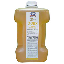 Zagers ACE Flow ZD3 Neutral Disinfectant Cleaner - 80 oz.
