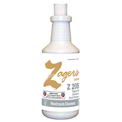 Zagers Z205 High Acid Emulsion Bowl Cleaner - Qt.