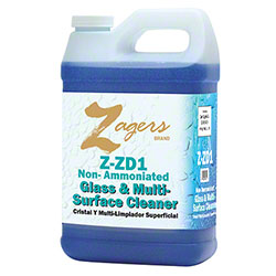 Zagers Z-ZD1 Glass Cleaner - 1/2 Gal.