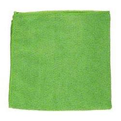 Microfiber & More Square Corner Microfiber Cloth - Green
