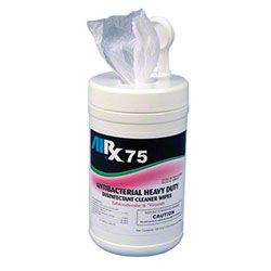 Airx RX 75 Antibacterial Disinfectant Cleaner Wipes