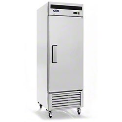Atosa Bottom Mount Upright Refrigerator - 21 cu ft.