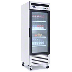 Atosa Glass Door Merchandiser Refrigerator - 22 cu ft.