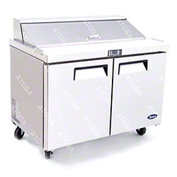 "Atosa 48"" Sandwich Prep Table w/12 cu ft. Refrigerator"