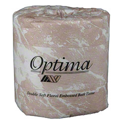 "Allied West Optima® Premium 545 Toilet Tissue-4.5"" x 3.75"""