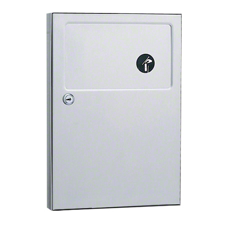 B-254 SURFACE MOUNTED SANITARY NAPKIN DISPOSAL -