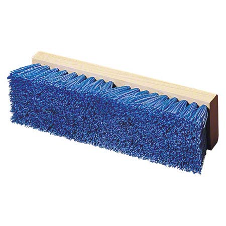 "10"" CRIMPED POLY DECK BRUSH"