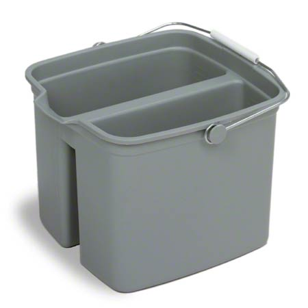 16 QUART DIVIDED PAIL GREY (8015)