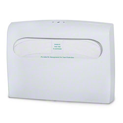 delamo® Half Fold Toilet Seat Cover Dispenser - White