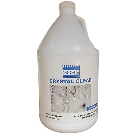 CRYSTAL CLEAR RTU GLASS CLEANER GAL