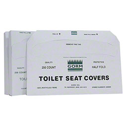 Gorm Toilet Seat Cover - Half Fold