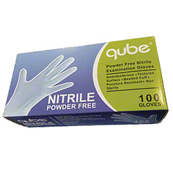Qube FDA Nitrile Glove Blue - Large