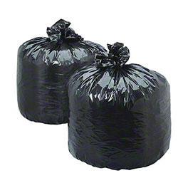 Low Density Flat Pack Liner - 40 x 48, 1.5 mil, Black