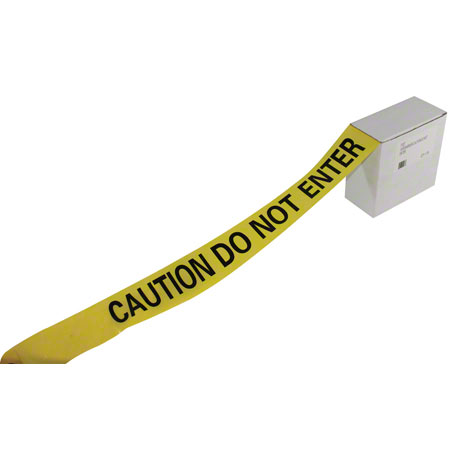 "7327 BARRIER TAPE ""CAUTION DO NOT ENTER"" 1000'/RL"