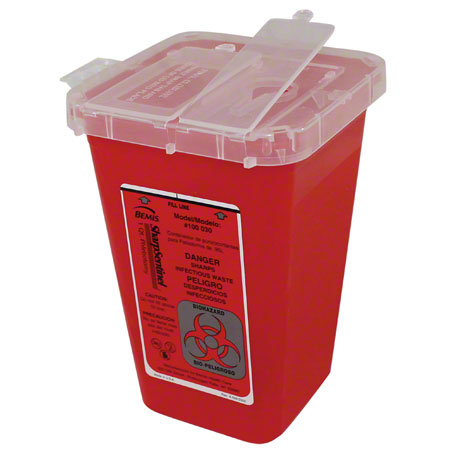 7350 SHARPS CONTAINER - QUART