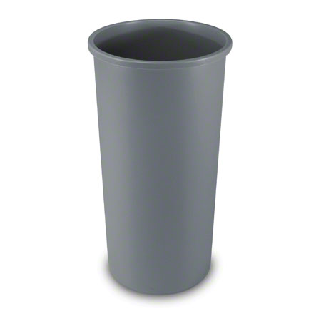 3546 UNTOUCHABLE ROUND WASTE CONTAINER 22 GAL - GRAY