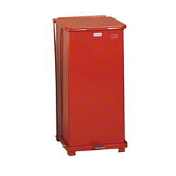 Rubbermaid® Defenders® Medical Step Can - 24 Gal., Red