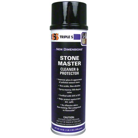 SSS STONE MASTER CLEANER AND PROTECTOR 12/19 OZ