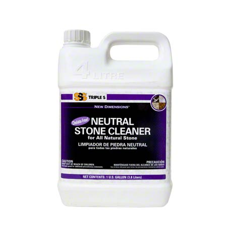09016 SSS NEUTRAL STONE CLEANER 4/GAL