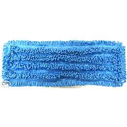 "SSS® NexGen TB Microfiber Mop Pad - 18"", Blue"