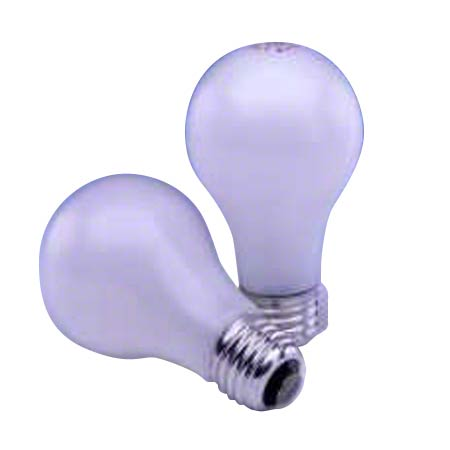 75A/RS/IF INSIDE FROST 75 WATT LIGHTING BULB 120/CS