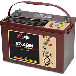 Trojan® 27-AGM 12V Deep-Cycle AGM Battery