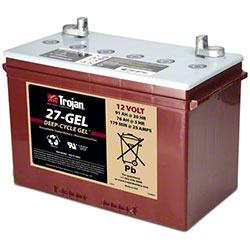 Trojan® 27-GEL 12V Deep-Cycle Gel Battery