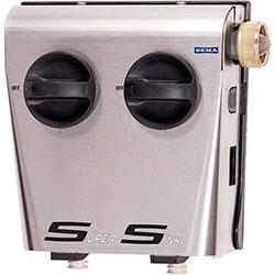 DEMA® SuperSink Two Product Action Gap Dispenser