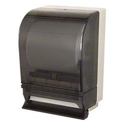 Palmer Auto-Transfer Push Bar Roll Dispenser -Transparent