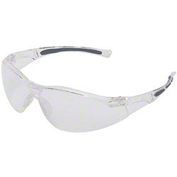 Uvex™ A800 Series Safety Eyewear - Clear Lens/Clear Frame