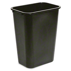 delamo® 41 Qt. Office Wastebasket - Black