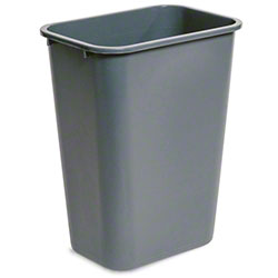 delamo® 41 Qt. Office Wastebasket - Grey