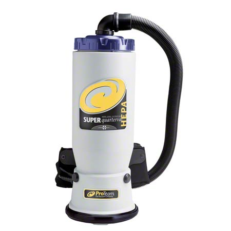 ProTeam® Super QuarterVac® HEPA Backpack Vacuum