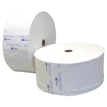 "SSS® Sterling Select Jumbo Jr Roll Tissue - 3.42"" x 1000'"